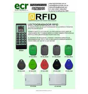 Lectograbados RFID